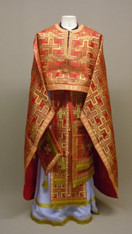 Greek Priest's Vestments: Red #6 - 52/150