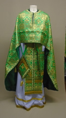 Greek Priest's Vestments: Green #11 - 52/145