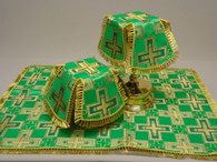 Aer and Chalice Veil Set - Green #9