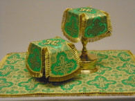 Aer and Chalice Veil Set - Green #10