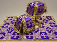 Aer and Chalice Veil Set - Purple #9
