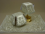 Aer and Chalice Veil Set - White #17