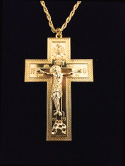 Gold Pectoral Cross #16