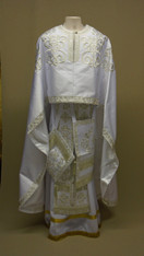 Greek Priest's Vestments: White #18 - 52/145