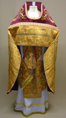 Russian Priest's Vestments: Gold #22 - 52 / 150