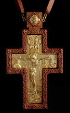 Wood Pectoral Cross #08