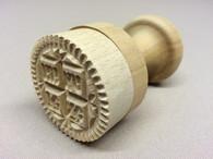 Wood Prosphora Seal #06