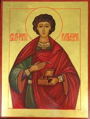 Saint Panteleimon Icon (Handpainted)