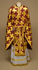 Greek Priest's Vestments: Red #7 - 52/135