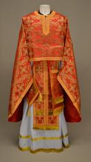 Greek Priest's Vestments: Red #8 - 52/135