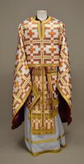 Greek Priest's Vestments: White #19 - 52/140