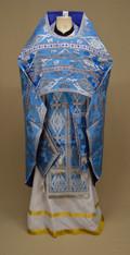 Russian Priest's Vestments: Blue #21 - 50 /145