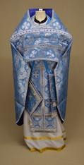 Russian Priest's Vestments: Blue #22 - 52 /150