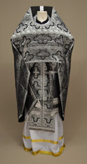Russian Priest's Vestments: Black #13 - 50/145