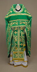 Russian Priest's Vestments: Green #15 - 52 / 155