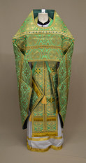 Russian Priest's Vestments: Green #16 - 52 / 155