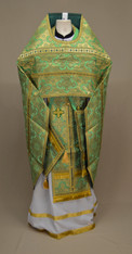 Russian Priest's Vestments: Green #17 - 50 / 145
