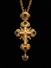 Jeweled Cross #15
