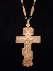 Wood Pectoral Cross #1
