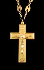 Gold Pectoral Cross #5