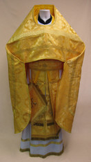 Russian Priest's Vestments: Gold #1 - 54/152