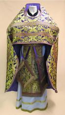 Russian Priest's Vestments: Purple #3 - 52-54/150