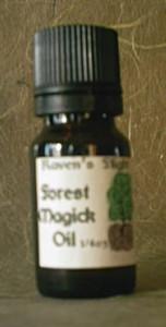 Forest Magick Magickal Oil Blend