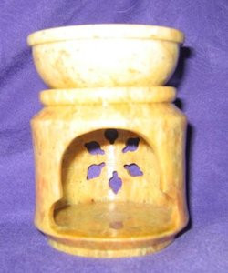 Aromatherapy Soapstone Oil Burner/Diffuser STAL-311D