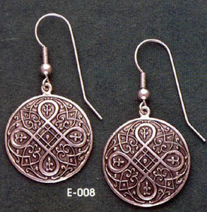 Round Renaissance Earrings