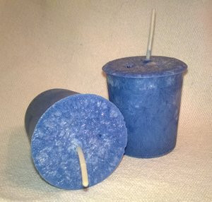 Psychic Protection Magickal Votive Candle *Palm Wax*