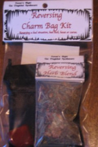 Reversing Charm Bag Spell Kit