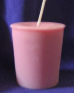 Rose Scented Votive Candle *Soy Wax*