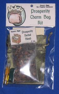 Prosperity Charm Bag Spell Kit
