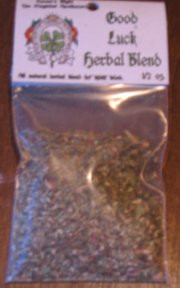 Good Luck Magickal Herb Blend