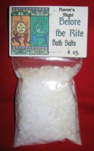 Before the Rite Magickal Bath Salts