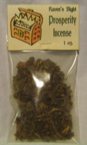Prosperity Charcoal Incense 1oz bag