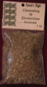 Cleansing & Protection Charcoal Incense 1 oz bag