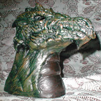 Dragon Head Tea Light Candle Holder