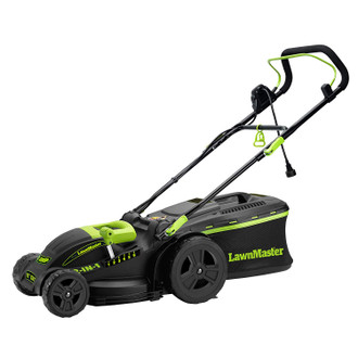 Electric 2-in-1 Lawn Mower, 15 Inch