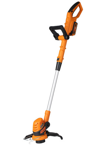 Cordless Electric Grass Trimmer, 24V Max Lithium-Ion, 10 Inch