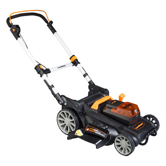 60V Lithium Ion Cordless Lawn Mower - Side Discharge Chute