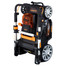 60V Lithium Ion Cordless Lawn Mower - Folds upright for vertical storage