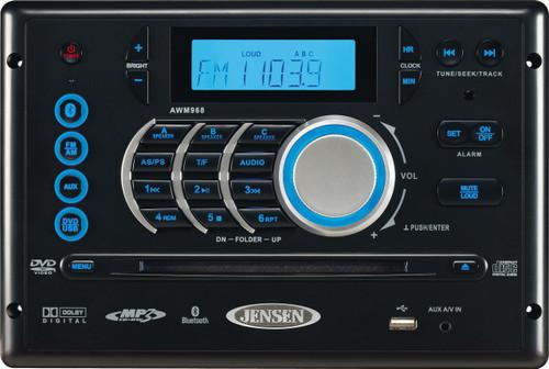 Jensen AM/FM/DVD/CD/USB Bluetooth Stereo