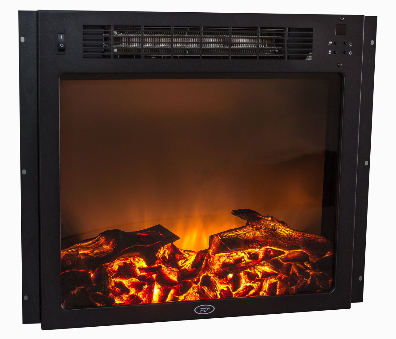 18 Electric Fireplace Flat Glass Rv Parts Nation