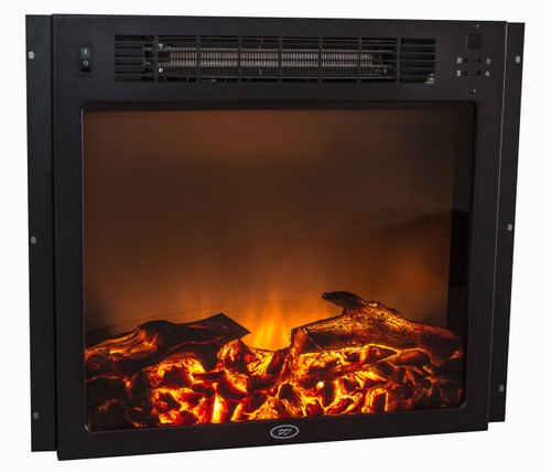 "18"" Electric Fireplace - Flat Glass"