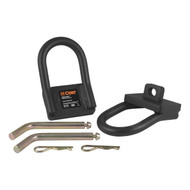 5th Wheel Safety Chain Loops, includes two brackets, two pins & two clips