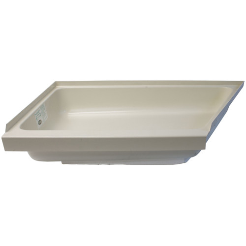 "24"" x 39"" Horse Trailer Angled Shower Pan"