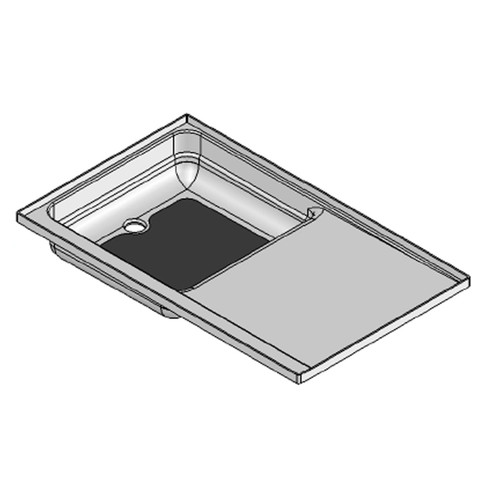 "23"" x 38"" RV Shower Pan Combo"