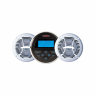 "Jensen Marine Bluetooth Stereo w/ Two 6.5"" Speakers Package"