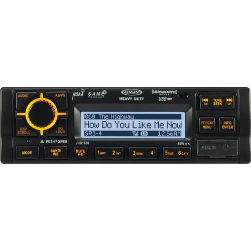 Jensen Heavy Duty AM/FM/WB/iPod/iPhone/SiriusXM Stereo